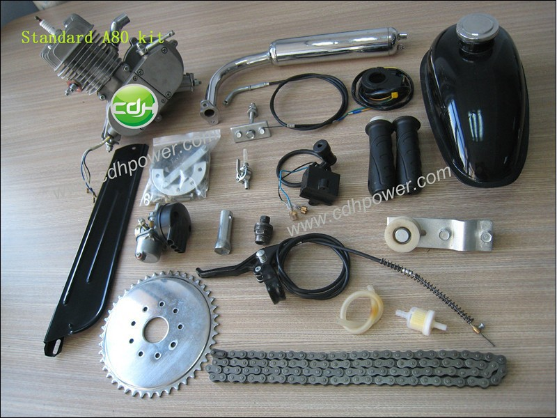 bike gas engine kit/motorized bicycle kit gas engine/2-cycle gas engine motor kit