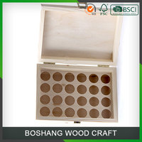 Wholesale Promotional Handmade Cheap Essential Oil Wooden Box