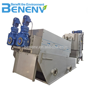 MDS312 Self cleaning automatic sludge dewatering machine to replace belt filter press