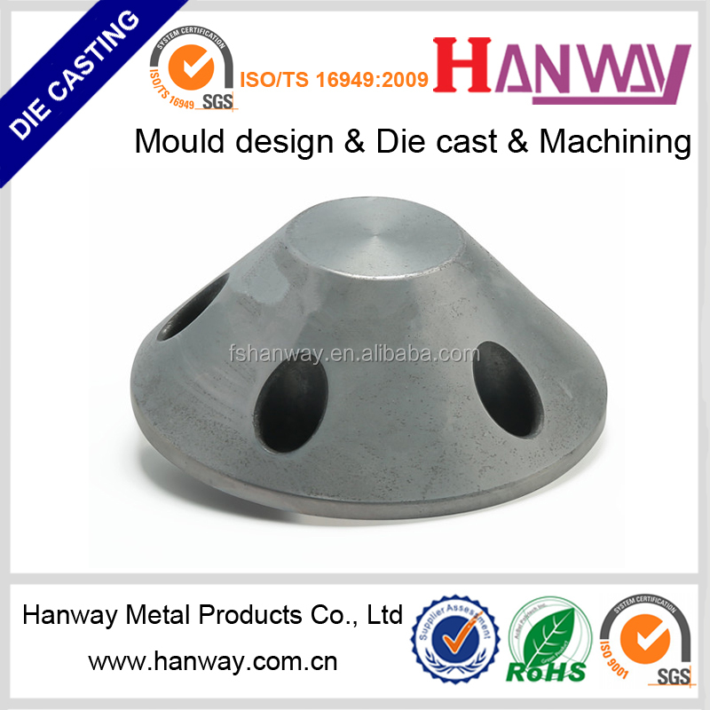 China GuangDong factory precision cnc machining aluminum die casting cars auto parts