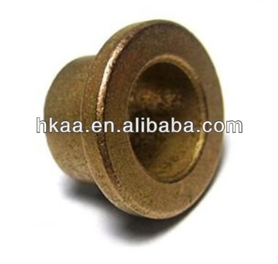 OEM Flanged Sintered Bronze Bushing / Oilite Bush / Bronze Bearing bushing,pre-lubricated bearing