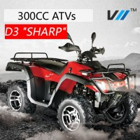 New Chinese 300cc Strong Power 4 wheel drive ATV for Sale (D3 Sharp)