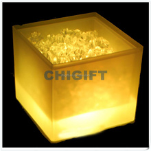NEW Wedding Decor LED Square Ice Bucket