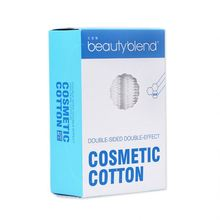 Beautyblend Cotton Facial Cleaning Box 100pcs Portable Thickening Double Effect Cotton Pads