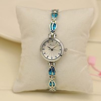 luxury chain watch ladies beautiful crystal dress watch
