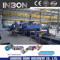 Stainless Steel Coil Slitting Machine Production Line With Cutting Machinery
