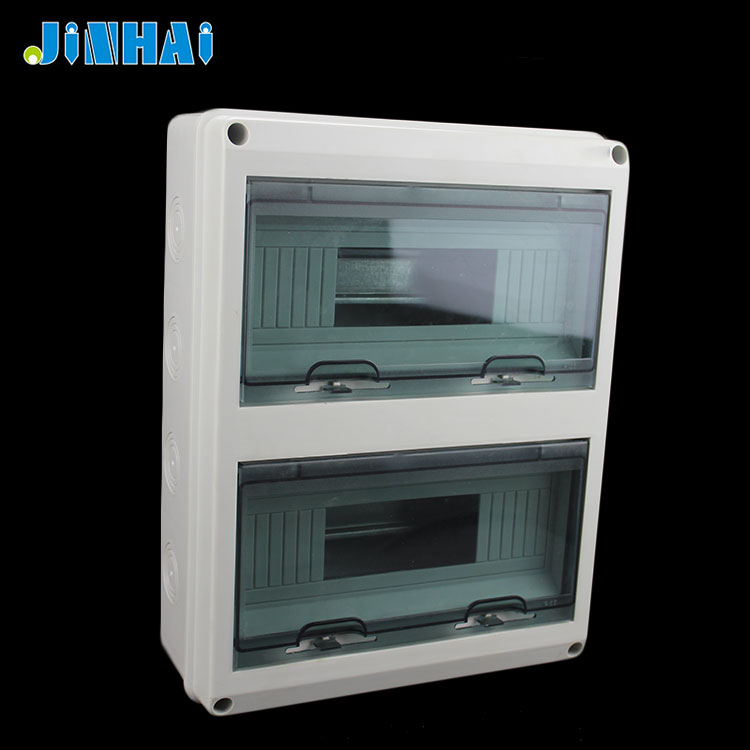 Plastic Electrical Surface Mount Pvc Distribution Box
