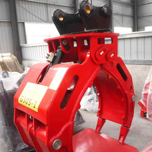 hitachi excavator parts 360 degree rotating grapple for cheap sale