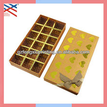 Paper Chocolate Box with Paper Divider