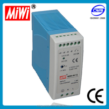 MDR-40-12 din rail mount switch, 5v 12v 24v din-rail switch power supply