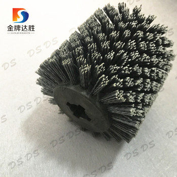 Deburring Polishing Cleaning Industrial  Cylinder Rotary Roller Brush
