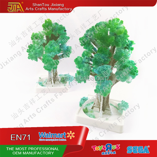 High quality intelligence toys magic growing crystal coral tree