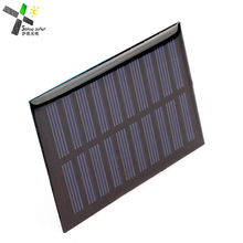 Small Solar Panel 3.0V 70mA with wires Customized size shape and voltage