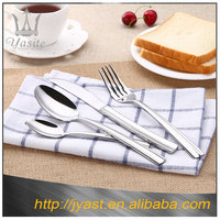 Western Style stainless steel cutlery 18/10 kinds of restaurant spoon fork knife sets