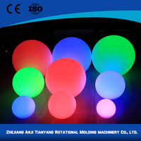 PE pool floating led ball light with high quality
