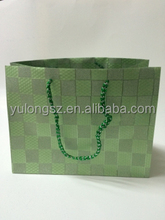 PP recyclable high-quality foldable glitter promotional gift shopping bag