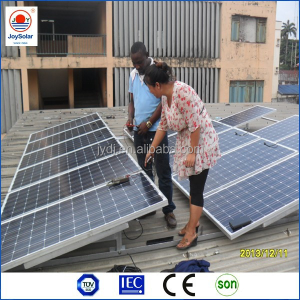 TUV MCS IEC approved 280w poly solar panel/solar module / solar panel