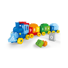 WANGE wholesale mini train building block toy with good packing