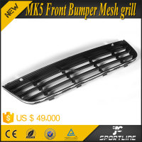 ABS Black Front Bumper Lower Center Mesh Grilles for Volkswagen VW Jetta MK5 06-08