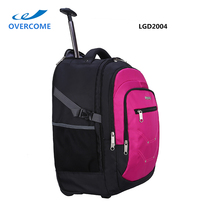 Purple super light-weight trolley travel luggage bags