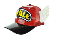 Hot-selling fashion Arale cap mesh baseball caps with ears