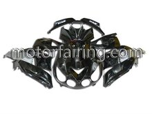 Motorcycle Fairings For kawasaki ZX14 ZX-14R 06-09 Black custom fairing kit Ninja