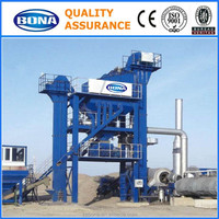 100t/h staitonary bitume batching mixing plant for sale