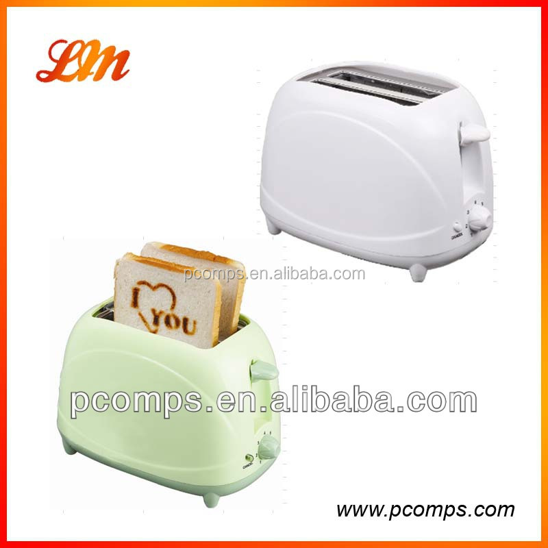 2016 Typical 2 Slice Logo Toaster with Fixed Logo Plate