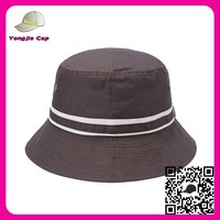 wholesale promotional high quality custom made fishing hats fabric bucket hat pattern