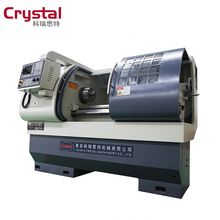 economic 750mm length work piece CK6136A-2 CNC lathe machine turning lathe