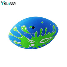 kids games colorful cheap price mini rugby ball