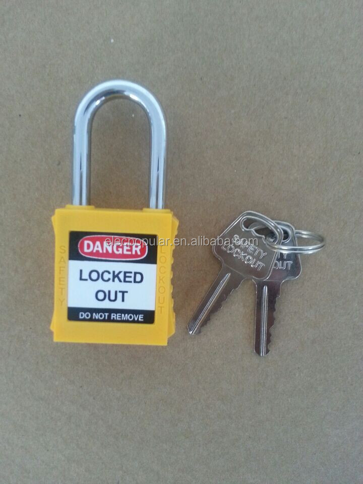 IRON PADLOCK with 38MM METAL SHACKLE