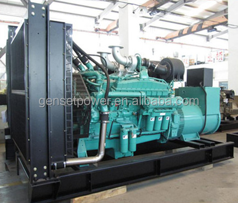 30kw to 750kw China Generator In Pakistan Price with Cummins Engine