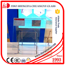 CE,ISO,CCC certificate crystal clear tempered glass for door,furniture industry