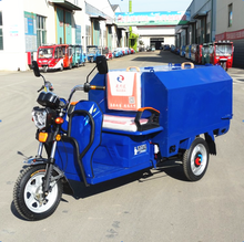 China convenience open used sanitation vehicle three wheel 48V 500W electric tricycle