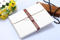 Hot! New! Fshionable Briefcase Style Smart cover for ipad 6 pu leather case wholesale
