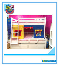 Kids cars bunk bed/Children bus bunk bed