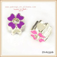 Lucky Clover lovely shape beads, fashion beads, there are two kinds of pink and purple ,decorative beads curtains ZX-A23326