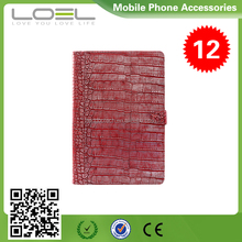 2015 new design flip croco pattern leather case for macbook air 11 13 inch B1(2)