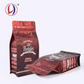 Innovative New Products Safe Food Grade Plastic Square Flat Bag For Packing Coffee