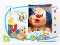 Multifunction dog baby walker toys with light baby cartoon walker
