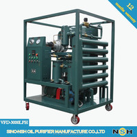 TWO Stage Vacuum oil deterioration Insulation Filtration Machine