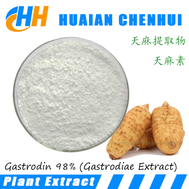 High Quality Natural plant Extract powder / Gastrodin 98%