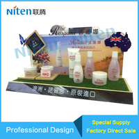 custom Clear Acrylic Easels Art Plates plastic display Easels