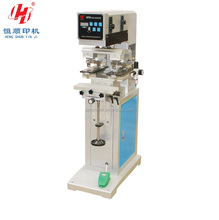 2045E Factory Price 1 Color 2 Printing Heads LED Bulb Watch Dial Silicone Rubber Pad Printing Machine