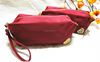 High grade newest nylon ladies cosmetic bag with handle