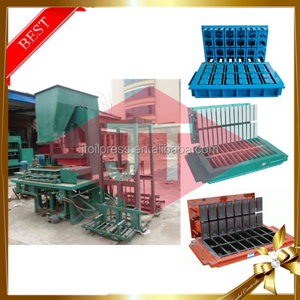 China best factory price brick making cement clay small hollow concrete block manufacturing process