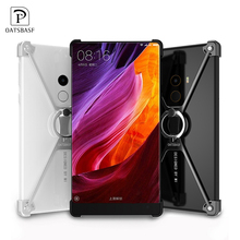 X Shape Ring Holder Metal Bumper Case for XiaoMi Mix Mi MIcase cover