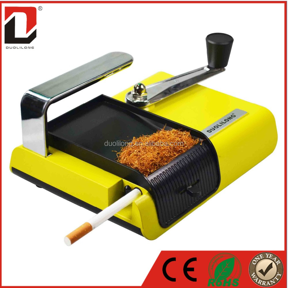 Hot metal manual cigarette rolling machine