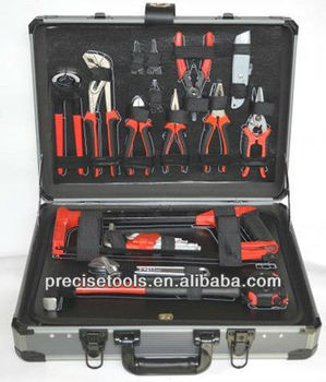 ALUMINUM CASE HAND TOOLS KIT